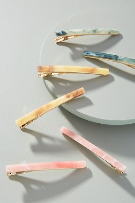 Watercolor Hair Clip Set by Anthropologie