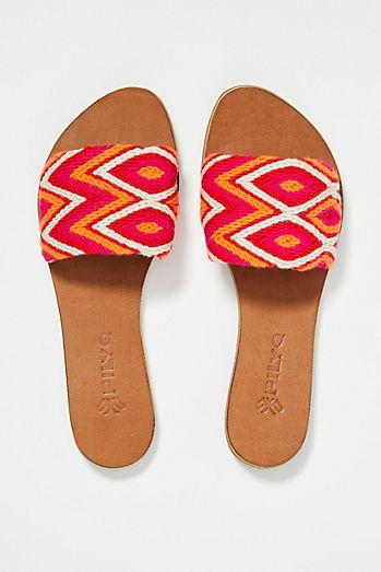 25189a8d710 PilyQ Sasha Slide Sandals