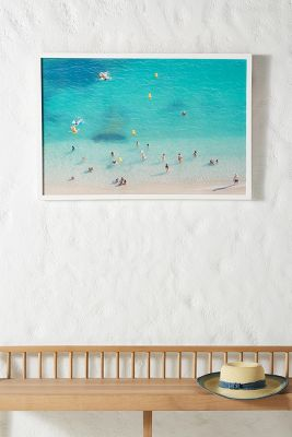 Swimmers In Villefranche Wall Art by Artfully Walls