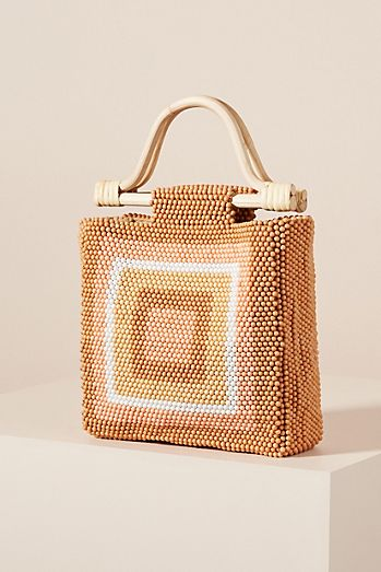 9bf7d3375 Kyle Beaded Tote Bag