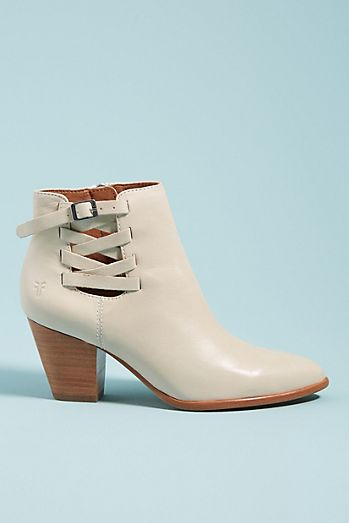 b66d6289345d Frye Reed Leather Booties