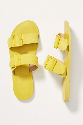 cd00f58e51a Farylrobin Double-Buckled Slide Sandals