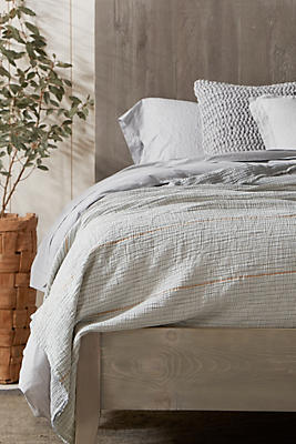 Slide View: 2: Coyuchi Topanga Organic Matelasse Blanket