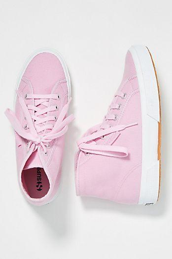 67d595c02095 Superga Canvas Hi-Top Sneakers
