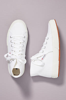 Superga High Top Canvas Sneakers by Superga