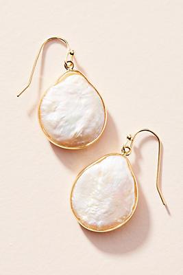 Slide View: 1: Elke Coin Drop Earrings