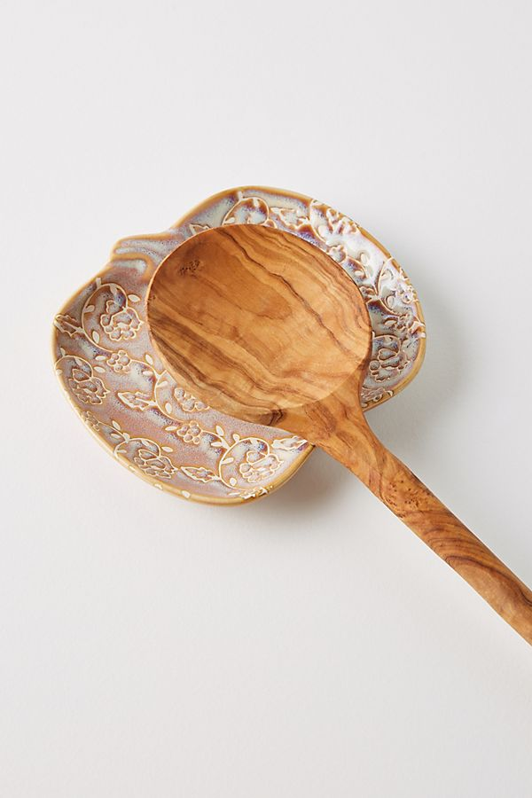 Slide View: 1: Heirloom Pumpkin Spoon Rest