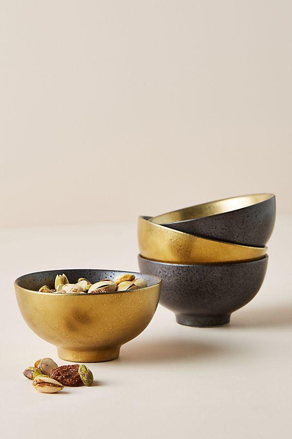 Slide View: 1: Lydia Nut Bowls, Set of 4