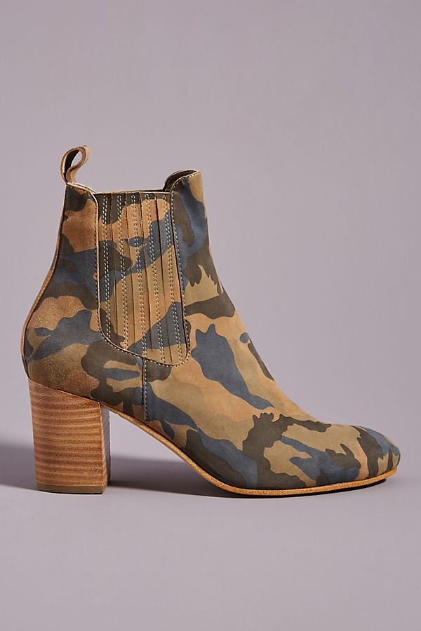 Silent D Utika Camo Ankle Boots by Silent D