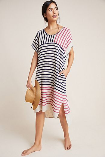656a95c978a9 Sundry Striped Caftan