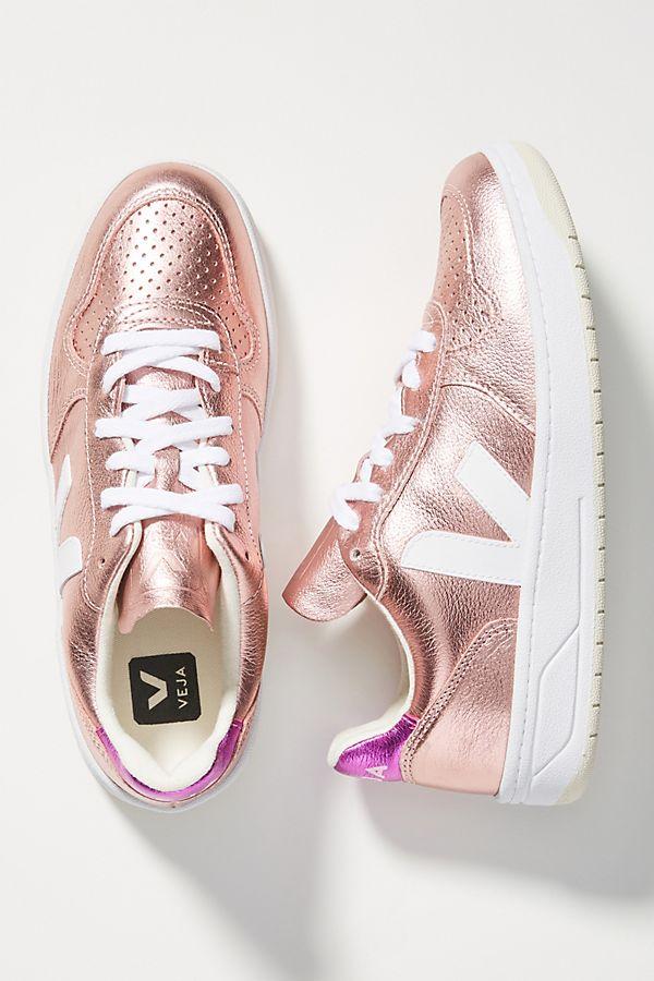 Veja V 10 Metallic Sneakers by Veja