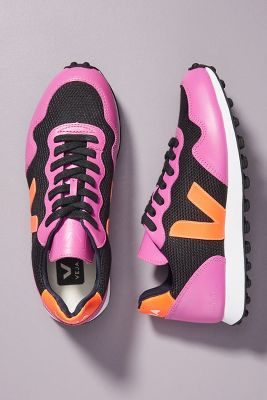 Veja Black Violet Sneakers by Veja