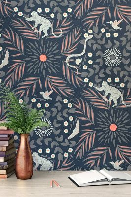 Grow House Grow Fauna Fantasia Wallpaper Anthropologie