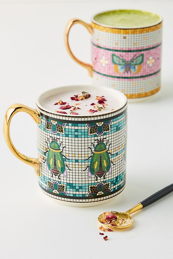 Slide View: 3: Garden Tile Mug