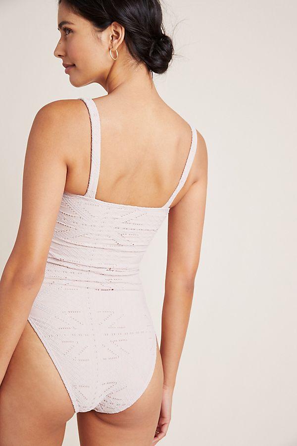 3dda5cbe04497 PilyQ Corset One-Piece Swimsuit | Anthropologie