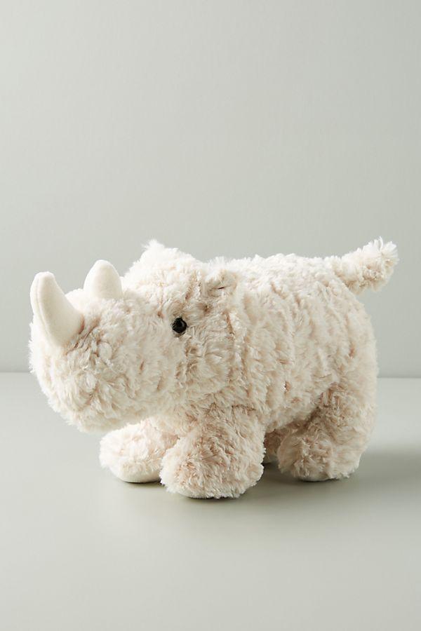 Slide View: 1: Rodger the Rhino Stuffed Animal