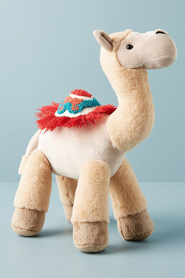 Slide View: 1: Carrie the Camel Stuffed Animal