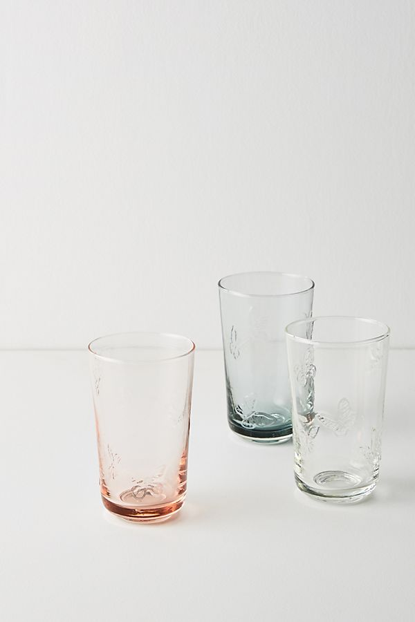 Slide View: 3: Edith Juice Glasses, Set of 4