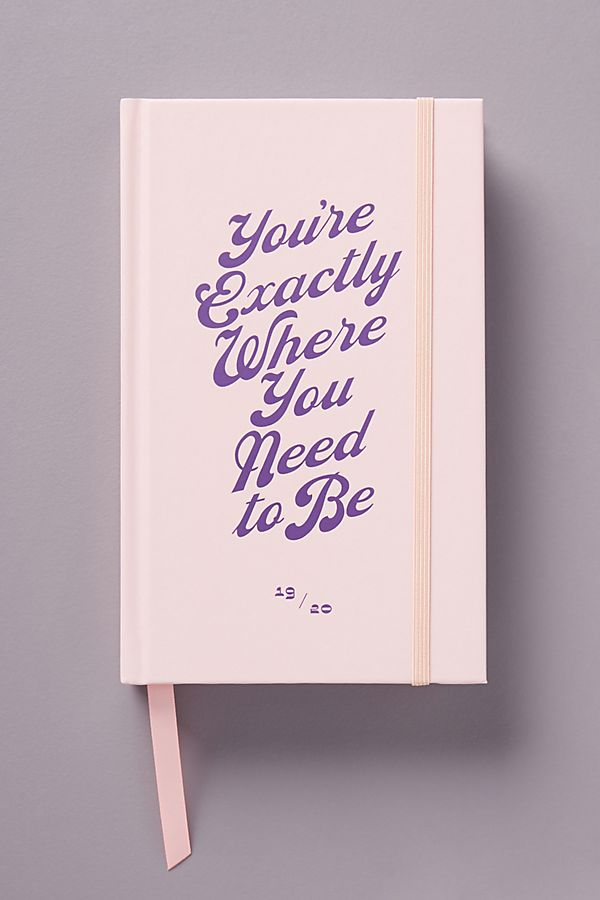 Ban.Do Where Need Be 2019 2020 Planner by Ban.Do