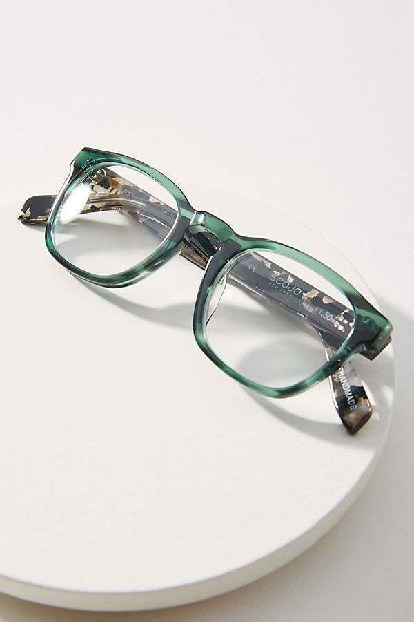 98a3ea0cef6 Slide View  1  Scojo New York Pell St. Reading Glasses