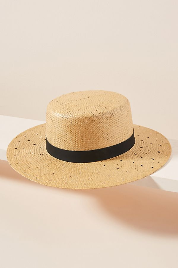 c908d1afd7b68 Slide View  1  Guinevere Straw Boater Hat