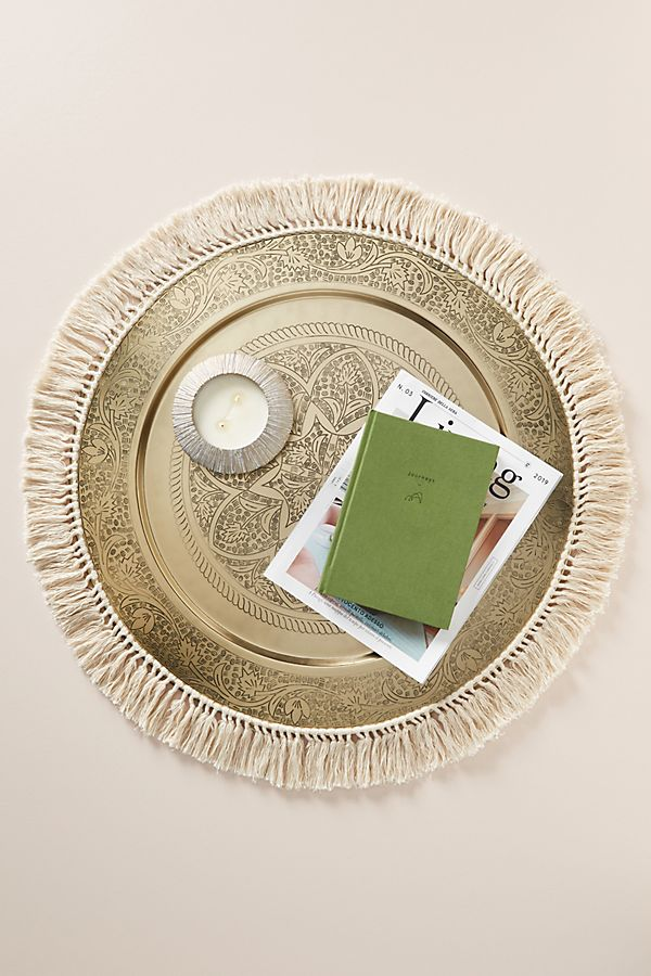 Slide View: 1: Lina Decorative Tray