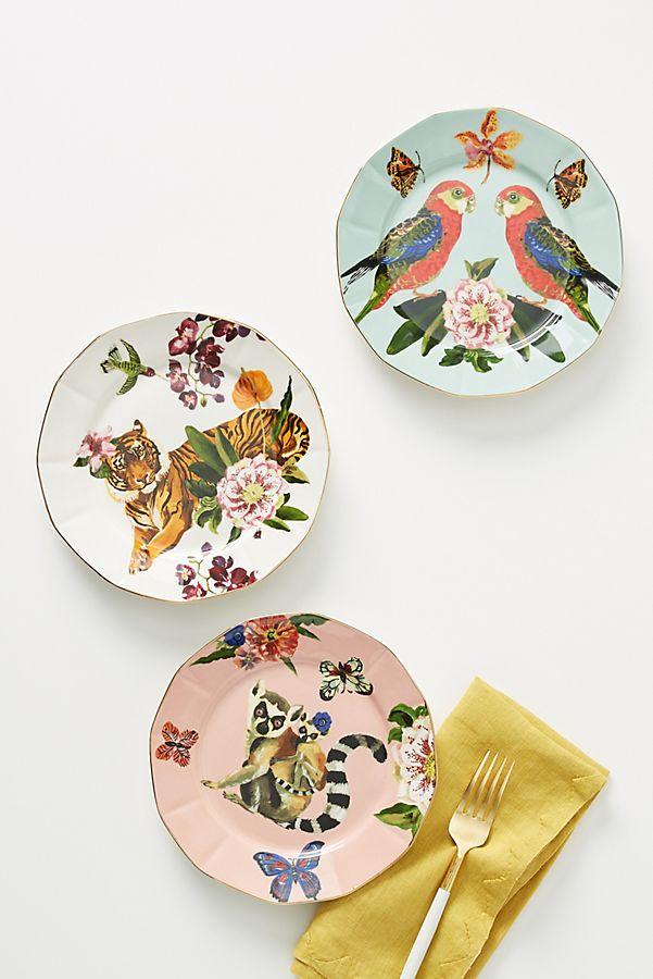Slide View: 2: Nathalie Lete Titania Dessert Plate