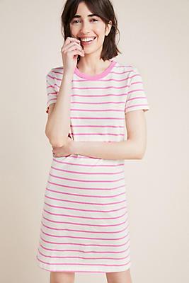 Slide View: 1: Stateside Striped Jersey Dress