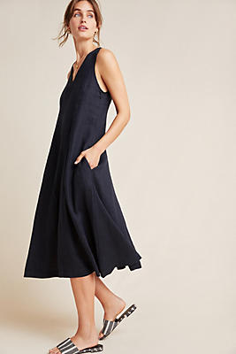 Slide View: 1: Stateside Linen Tank Dress