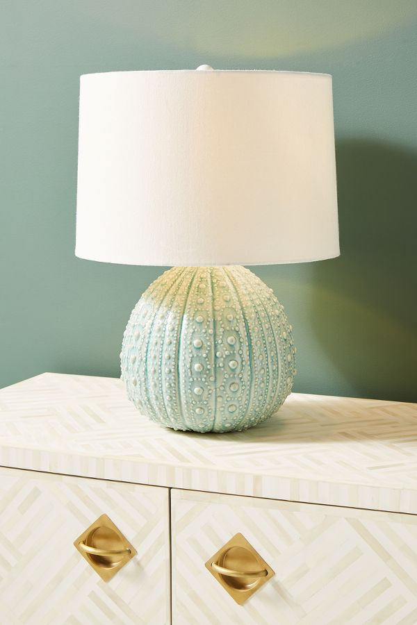 Soft Green Sanibel Table Lamp