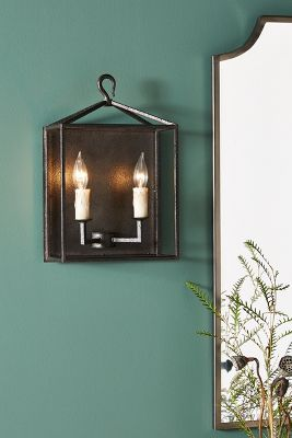 Cameron Lantern Sconce by Anthropologie