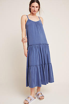 Slide View: 1: Sundry Tiered Midi Dress