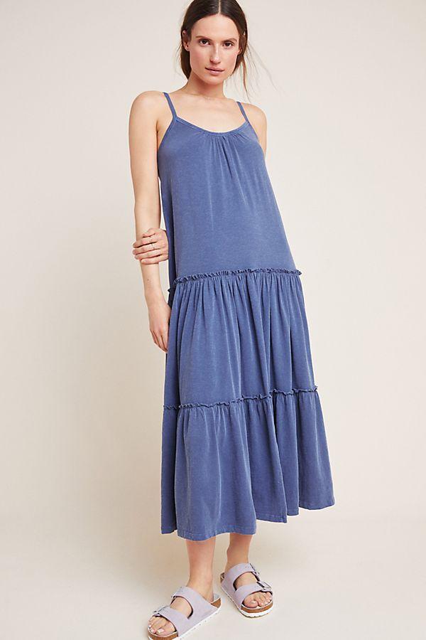 0684f06124957 Sundry Tiered Midi Dress | Anthropologie
