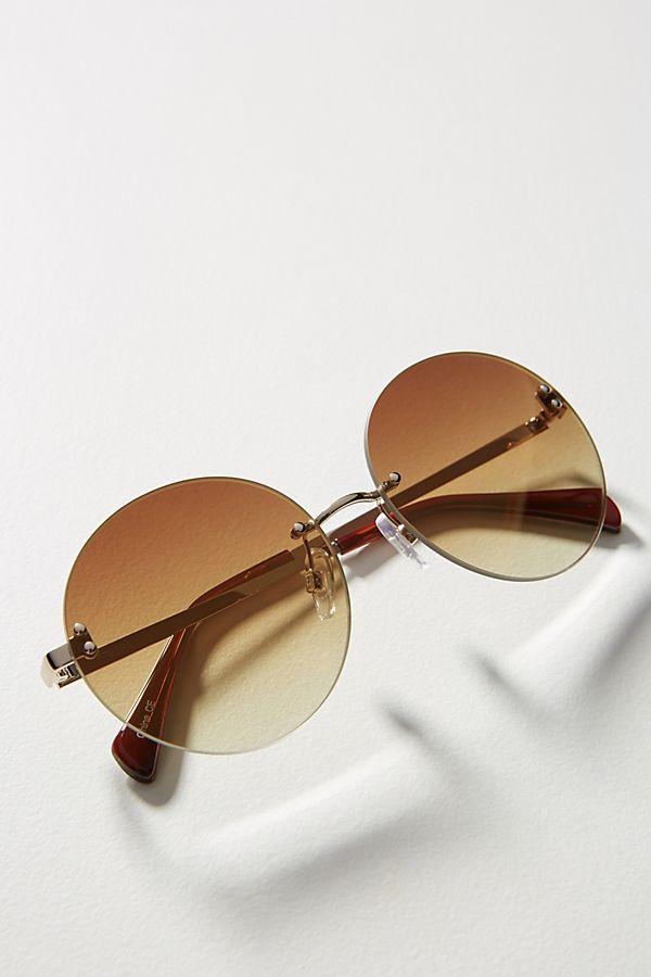 73abc105e80 Slide View  1  Freyrs Lisa Round Sunglasses
