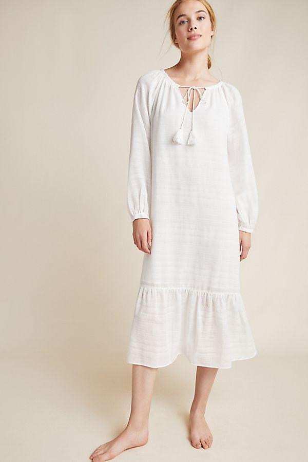 Slide View: 1: Cerie Gauze Midi Dress