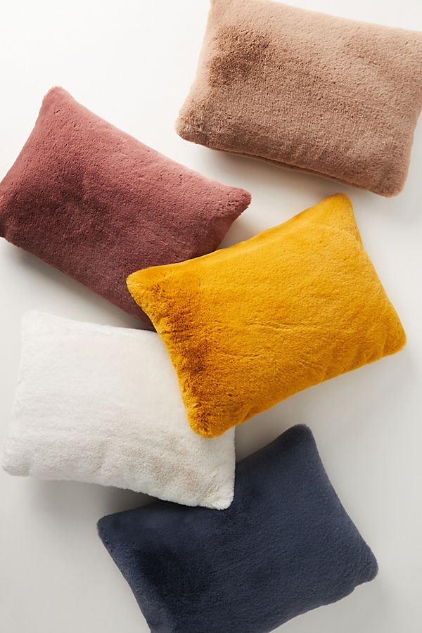 Slide View: 1: Sophie Faux Fur Pillow
