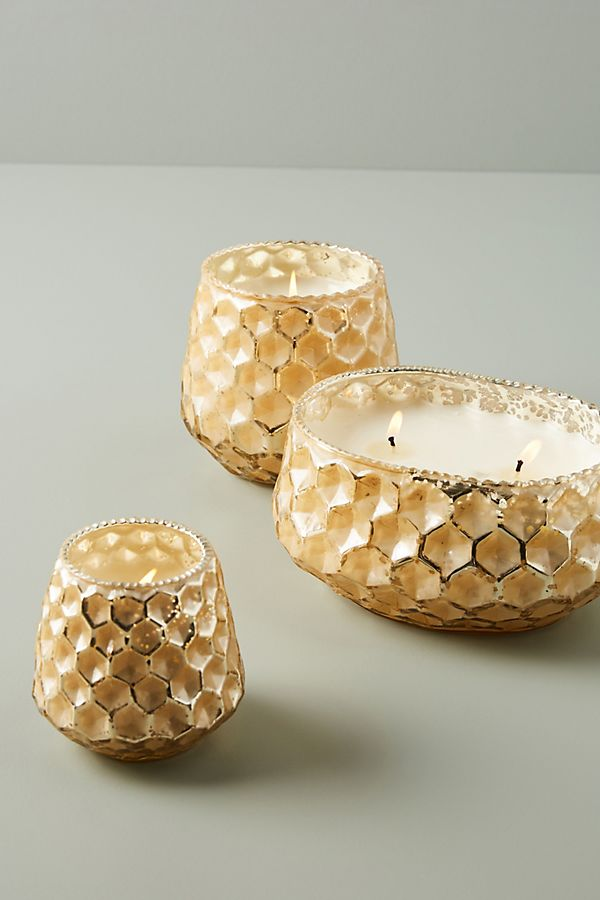 Slide View: 3: Honeycomb Candle