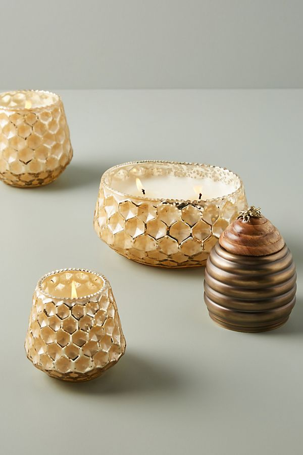 Slide View: 4: Honeycomb Candle
