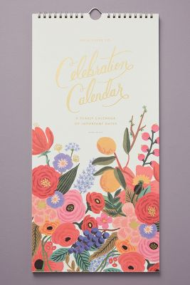 Rifle Paper Co. Celebration Calendar by Rifle Paper Co.