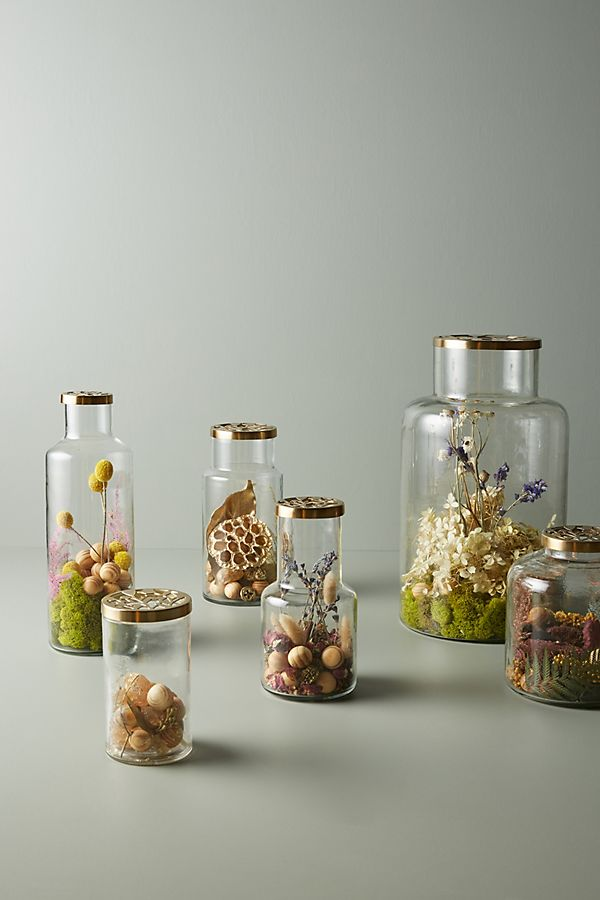 Slide View: 1: Floral Fragrance Jar