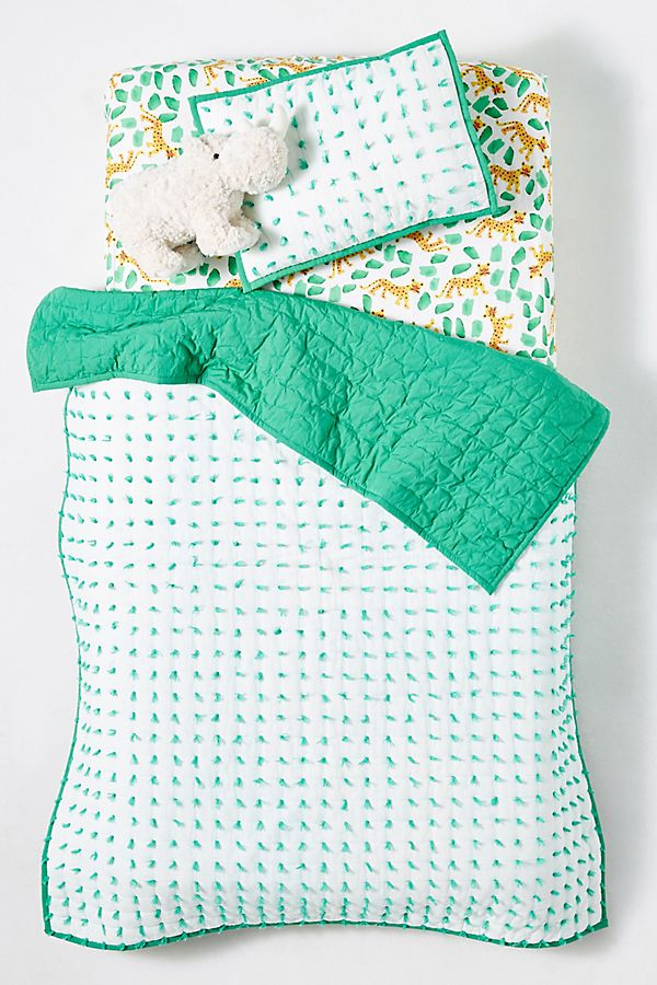 Slide View: 2: Alma Toddler Quilt