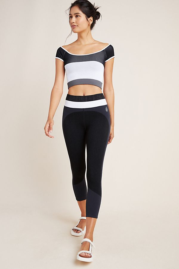Slide View: 1: Free People Movement Block Party Seamless Tee