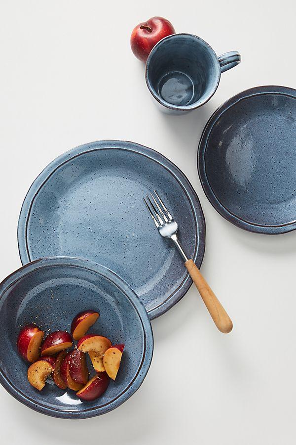 Slide View: 2: Alba Dinner Plates, Set of 4