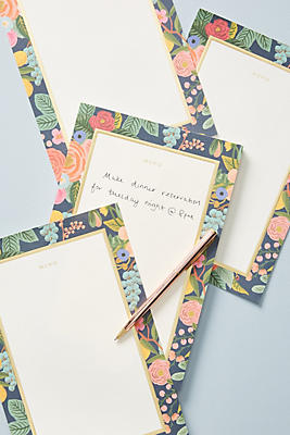 Rifle Paper Co. Memo Notepad by Rifle Paper Co.
