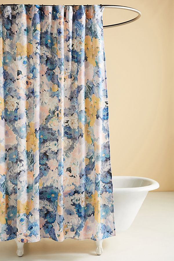 Slide View: 1: Helen Dealtry Claudine Shower Curtain