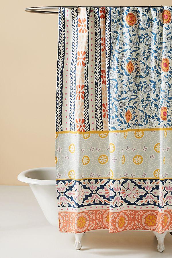 Slide View: 1: Vivian Shower Curtain