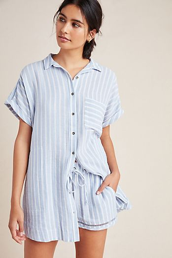fa9d68aa12a Women's Pajamas - Sleep Tops & Pants | Anthropologie