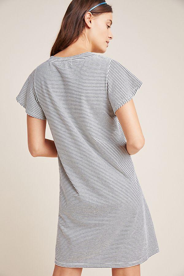 67e120422e5 Slide View  3  Flutter-Sleeved T-Shirt Dress