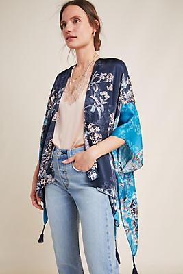Slide View: 1: Jamie Tasseled Kimono