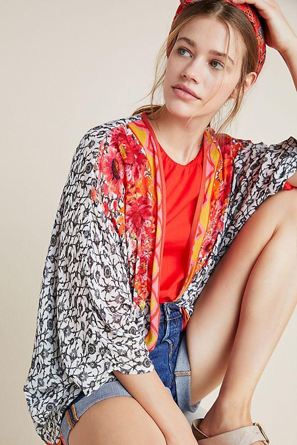 Slide View: 1: Kellen Cocoon Kimono